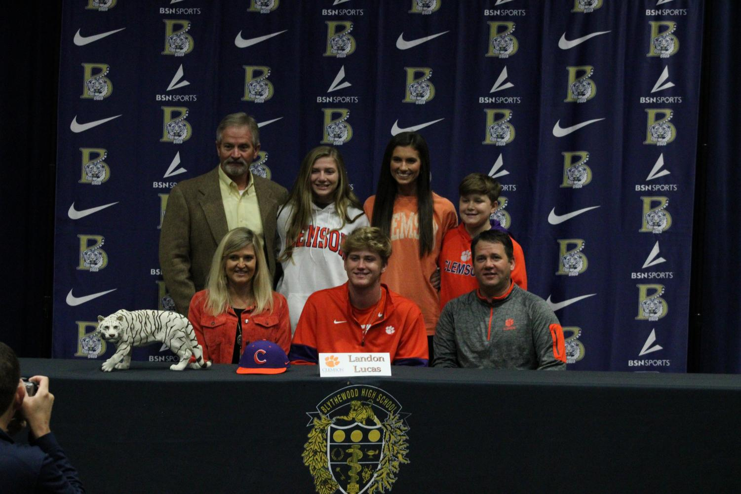 Landon+Lucas+signs+to+play+baseball+at+Clemson+University.
