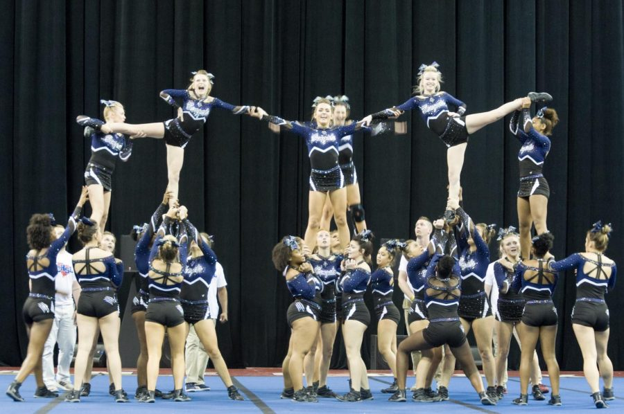 Blythewood+Varsity+Cheer+Competes+in+State+Competition