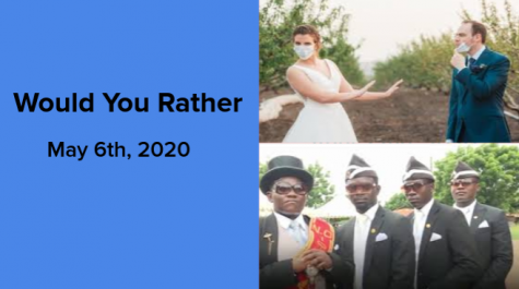 Would You Rather May 6, 2020